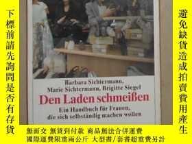 二手書博民逛書店德語原版罕見Den Laden schmeissen von M