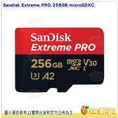 Sandisk Extreme PRO 256GB microSDXC 讀170MB TF 公司貨 A2 4K 256G