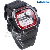 CASIO卡西歐 DW-291H-1B 十年電力 數位 顯示錶 男錶 粗曠 運動風格 DW-291H-1BVDF
