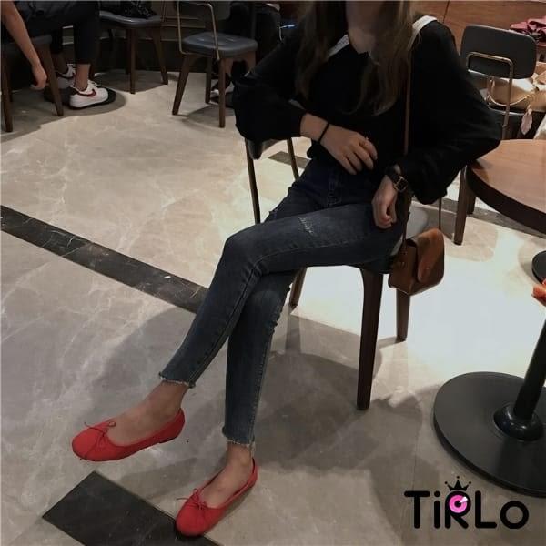 襯衫-Tirlo-蕾絲滾邊翻領襯衫-兩色(現+追加預計5-7工作天出貨)