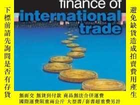 二手書博民逛書店Finance罕見Of International Trade (essential Capital Market