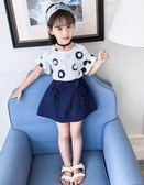 618好康鉅惠套裝兩件套夏季童裝洋氣韓版時髦兒童小女孩