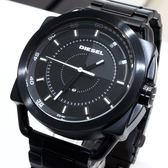 【萬年鐘錶】DIESEL 霸氣 日期顯示 黑錶面  IP黑錶殼帶   大錶徑 46mm DZ1580