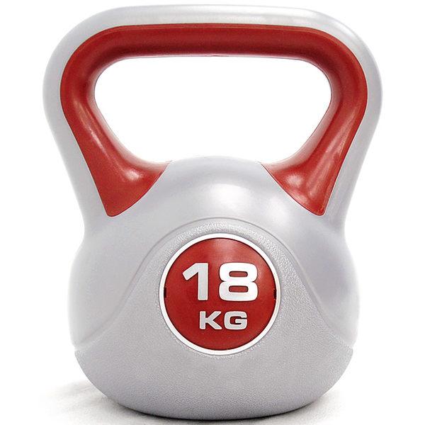 KettleBell運動18KG壺鈴(39.6磅)18公斤壺鈴.拉環啞鈴搖擺鈴舉重量訓練重力健身器材.推薦哪裡買專賣店