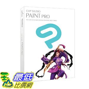 [106美國直購] 2017美國暢銷軟體 CLIP STUDIO PAINT PRO