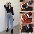 女士皮帶簡約百搭時尚韓國純牛皮裝飾腰帶學生裝飾牛仔褲帶女 科炫數位