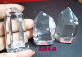 『晶鑽水晶』天然巴西白水晶柱46~55mm超白亮透!!送禮物佳選 57號