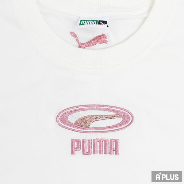 PUMA 女 流行系列CELL OG刺繡短袖T恤(F) 圓領T(短) - 84465315
