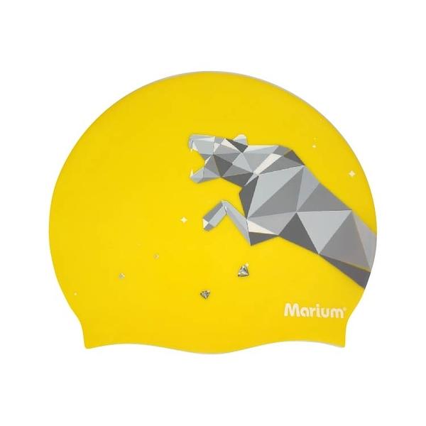 ≡MARIUM≡ 大人矽膠泳帽 - Leopard (共2色) MAR-20613