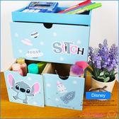 《熱銷現貨》迪士尼 史迪奇 正版 桌上型 疊疊三抽鑰匙收納盒 收納櫃 置物盒 生日禮物 B01106