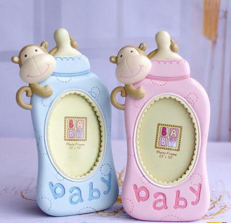 寶寶成長紀念相架 兒童相框擺台卡通奶瓶 可愛創意嬰兒慶生禮物