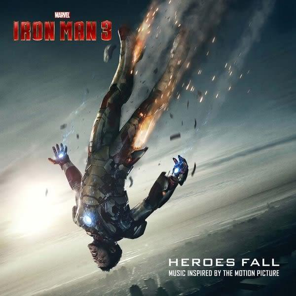 鋼鐵人3 電影原聲帶 歌曲番外篇 CD  O.S.T.  Iron Man 3 Heroes Fall   (購潮8
