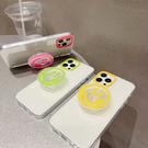 蘋果 手機殼 Airpods pro 1代 2代 3代 保護套 螢光微笑 組合 耳機盒 全包無線耳機殼