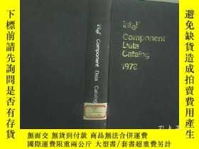 二手書博民逛書店COMPONENT罕見DATA CATALOG 1978 件數據