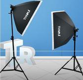 天銳2燈拍攝臺靜物臺套裝組合攝影棚常亮燈套裝柔光箱攝影器材套