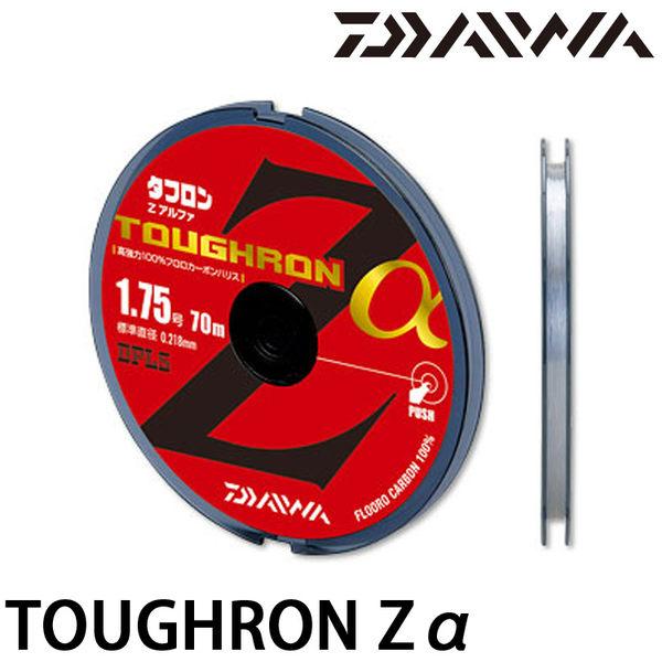 漁拓釣具 DAIWA TOUGHRON Zα 70m #1.25 #1.5 #1.75 #2.0 #2.5 #3.0 (子線)