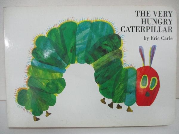【書寶二手書T1/少年童書_BLB】The Very Hungry Caterpillar_Eric Carle