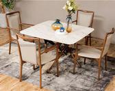[紅蘋果傢俱]SBE-011 大理石餐桌椅 實木 餐桌 餐椅 簡約 現代 飯桌