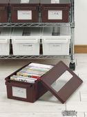 日本進口cd收納盒 家用dvd收納碟片光盤盒漫畫專輯整理 ps4收納箱  街頭布衣
