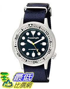 [106美國直購] Freestyle 手錶 Unisex 10019174 B00LCTCD9O Ballistic Dive Analog Display Japanese Quartz Blue