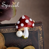 Special歐美童話毛衣披肩扣胸針別針胸花飾品絲巾扣蘑菇園童話Mandyc