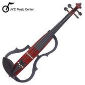 ★JYC Music★JYC SV-150S靜音提琴(咖啡色)~雙輸出/三段EQ