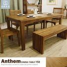 餐桌 工作桌 書桌(另有6尺)全柚木款5尺【B052-5】品歐家具