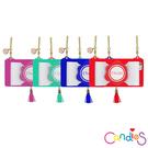 Candies-iPhone6/6s Plus(5.5吋)緞帶流蘇晚宴包-附金色鍊條