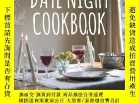 二手書博民逛書店The罕見Date Night Cookbook: Romant