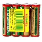 TOSHIBA 東芝 3號AA 碳鋅電池 (4入)/組【康鄰超市】