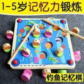 磁性釣魚玩具嬰兒幼兒寶寶蒙氏早教益智0-1一2-3歲兩三周歲半木質歐歐流行館