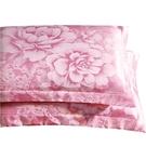 貢緞提花枕套一對裝...