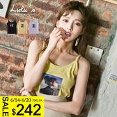 LULUS-C女孩照片無袖上衣-3色  現+預【01111217】