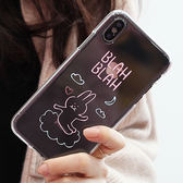 韓國 霓虹動物 透明軟殼 手機殼│S6 Edge Plus S7 S8 S9 Note3 Neo Note4 Note5 Note8│z8432