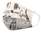 優美特 醫用口罩 隔壁的貓(米白) 25入/盒 成人