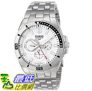 [美國直購] 手錶 Casio Mens MTD-1060D-7AVDF Divers Stainless Steel Watch