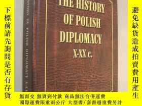 二手書博民逛書店THE罕見HISTORY OF POLISH DIPLOMACY