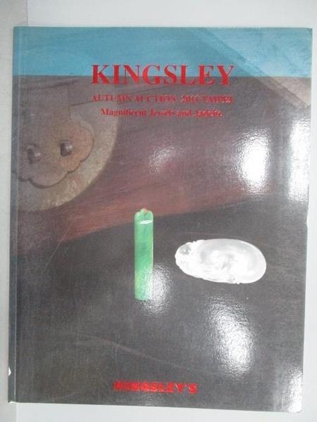 【書寶二手書T1/收藏_PNK】Kingsley Autumn Auction 2011 Taipei_Magnificent Jewels…