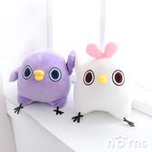 【懶得鳥你玩偶 10吋】Norns Mentori 正版授權 絨毛娃娃 LINE貼圖 直白妹 紫鳥嗶助 可愛動物 擺飾