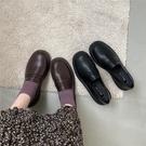 chicli jk鞋黑色單鞋學院風INS小皮鞋女夏日系春秋百搭英倫樂福鞋 【端午節特惠】