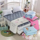 保潔床垫 全棉床墊保護墊防滑水洗床護墊1.5m薄款墊被酒店保潔墊1.8床褥子  mks阿薩布魯