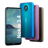 Nokia 3.4 (3G/64G)【內附保護套】