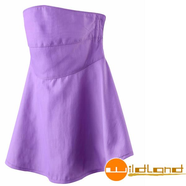 Wildland荒野 W1802-59芋紫 涼感紗抗UV檔布口罩