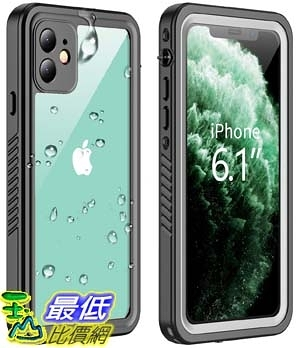 [9美國直購] iPhone 11 防水手機殼 Vapesoon iPhone 11 Waterproof Case, Built-in Screen Protector 360 Full-Body Protection