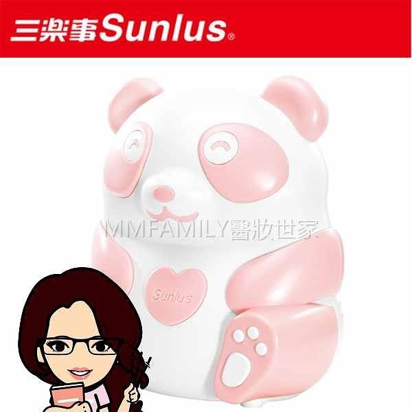 贈口罩5入/包+隨贈品+Sunlus三樂事熊貝比電動吸鼻器(粉)◆醫妝世家◆