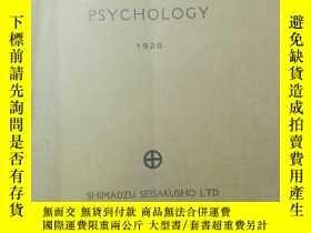二手書博民逛書店APPARATUS罕見FOR PSYCHOLOGY 心理學實驗器