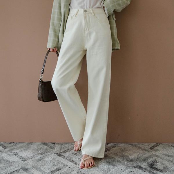 MIUSTAR 經典不敗!高腰直筒牛仔寬褲(共4色,S-XL)【NH0020】預購