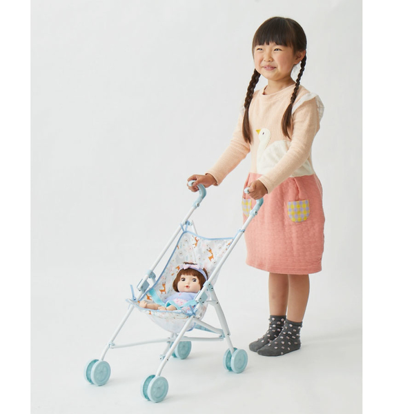Baby Blush 親親寶貝 玩具娃娃推車-清新白 玩具反斗城