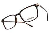 MOLSION 光學眼鏡 MJ3003 B20 (琥珀棕) Angelababy代言 簡約方框款 眼鏡框 #金橘眼鏡