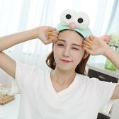 洗臉髮帶韓國可愛髮套洗漱束髮帶敷面膜髮箍頭飾頭箍 全館免運